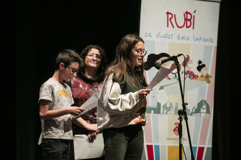 Los consejeros y consejeros han explicado a los asistentes el trabajo que han hecho este último año (foto: Ayuntamiento – Lali Puig)
