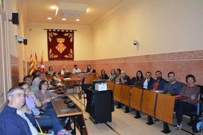 El pleno ha tenido lugar este lunes (Foto: Ayuntamiento).