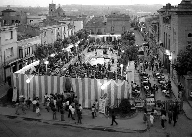 Carpa en los años 60 (Archivo Marroyo).