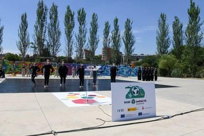 Coreografía (foto: Ayuntamiento de Rubí - Localpres).