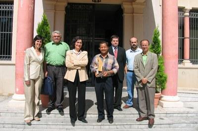 En 2012, una delegación nicaragüense visitó Rubí (foto: Ayuntamiento de Rubí).