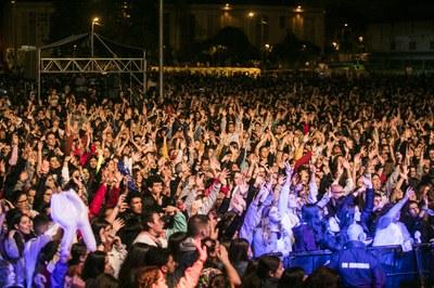 El público, al final del concierto.
