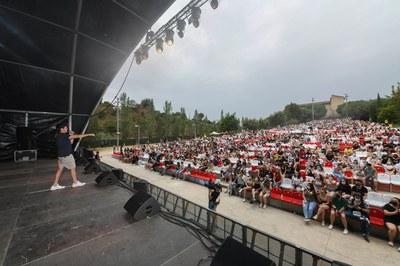 Miki Núñez (foto: Ayuntamiento de Rubí - Localpres).