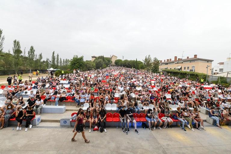 El público ha llenado el parque del Castell (foto: Ayuntamiento de Rubí - Localpres)