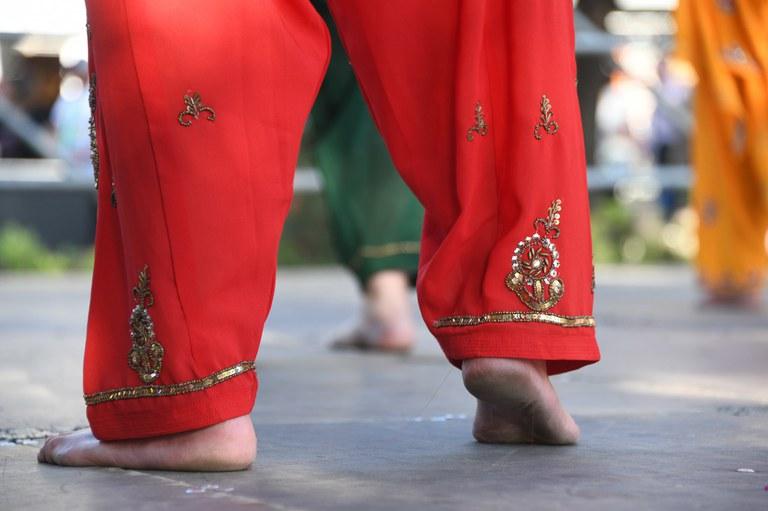 Mostra de dansa de bollywood