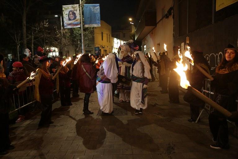 Cabalgata de Reyes por las calles
