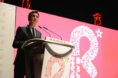 El periodista Bernat Soler ha sido el conductor de la gala.