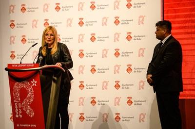 La alcaldesa, Ana María Martínez Martínez, ha pronunciado el discurso de apertura.