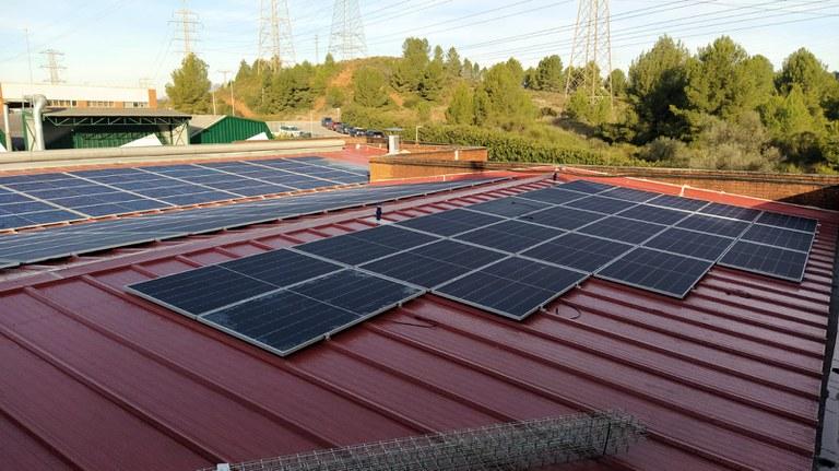 Instalación fotovoltaica, diciembre 2020