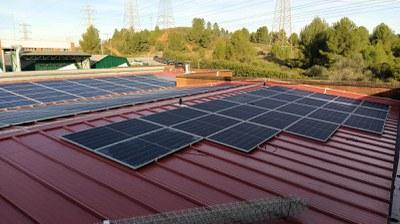 Instalación fotovoltaica, diciembre 2020.
