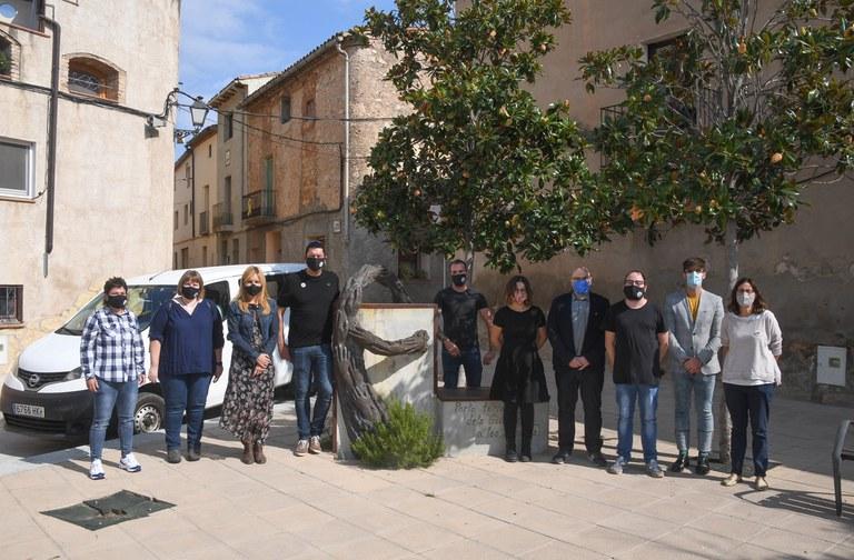 Acto de hermanamiento entre Rubí y Els Guiamets