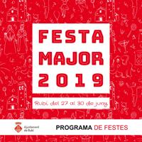 Programa Festa Major 2019