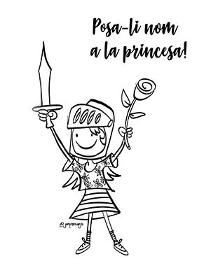 Posa-li nom a la princesa