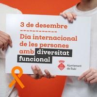 Dia Internacional de les Persones amb Diversitat Funcional 2020