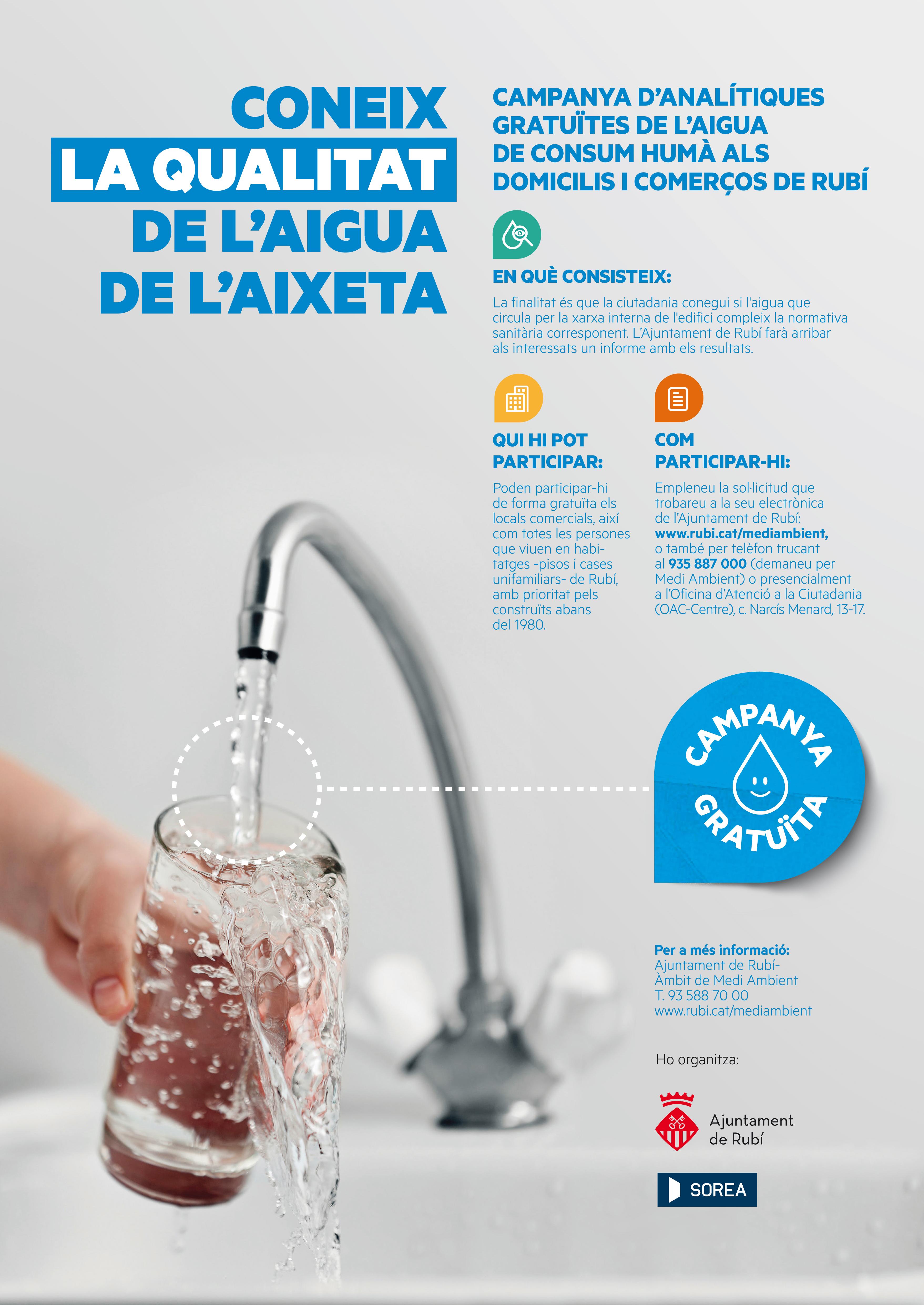 Campanya qualitat aigua aixeta_cartell