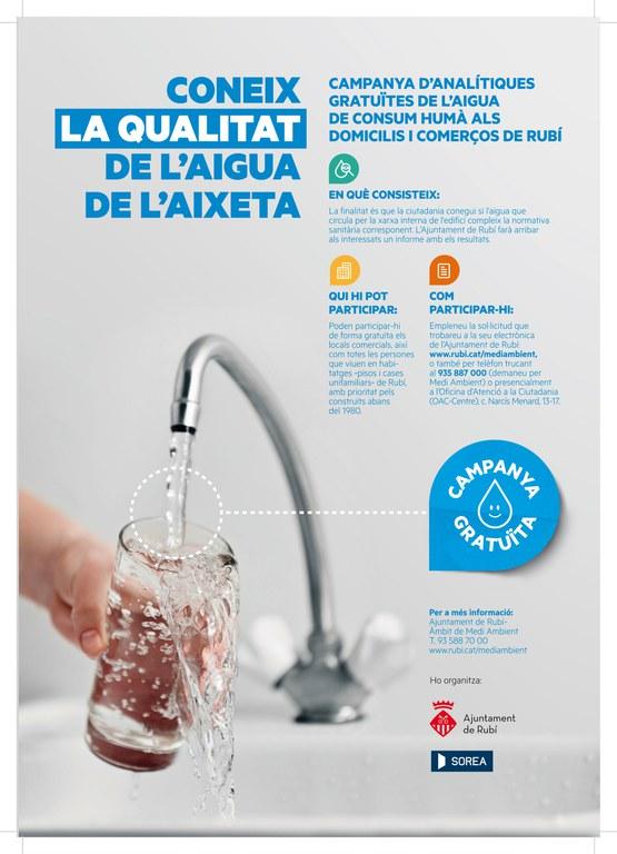 Cartell_qualitat aigua aixeta