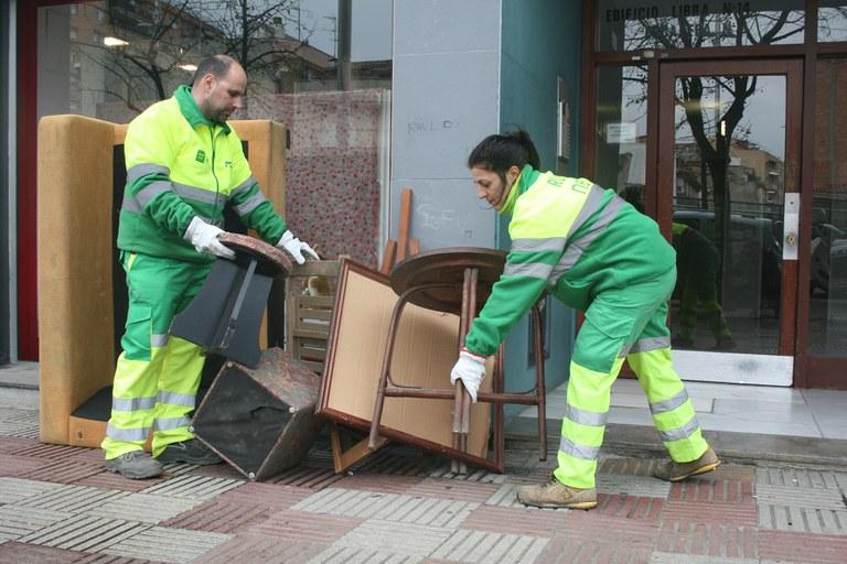 Servei de recollida de mobles i trastos vells