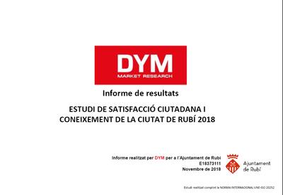 Portada estudi de satisfacció ciutadana i coneixement de la ciutat de Rubí 2018.png