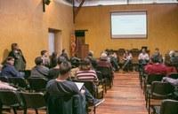 Imatge d'una sessió del CEM al Castell de Rubí