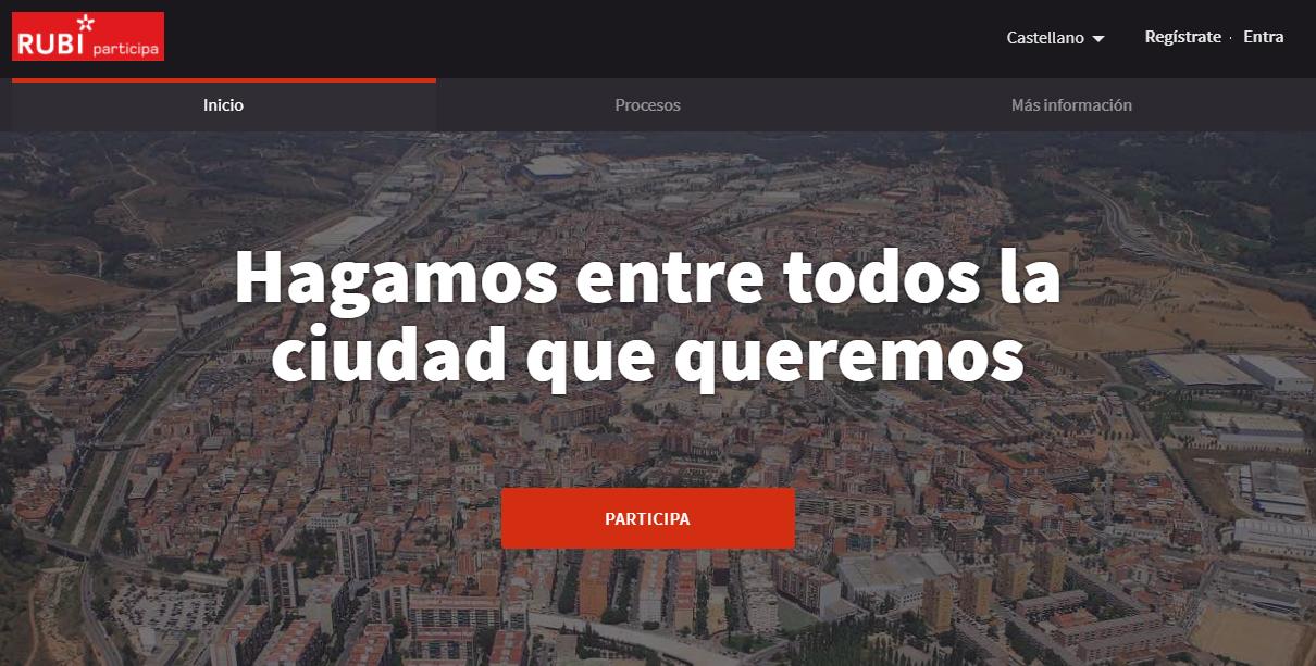 Plataforma Participa Rubí_castellà