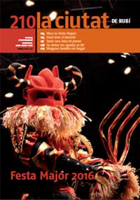 Portada revista La Ciutat 210 (juny 2016)