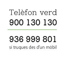 Telèfon Verd quadrat