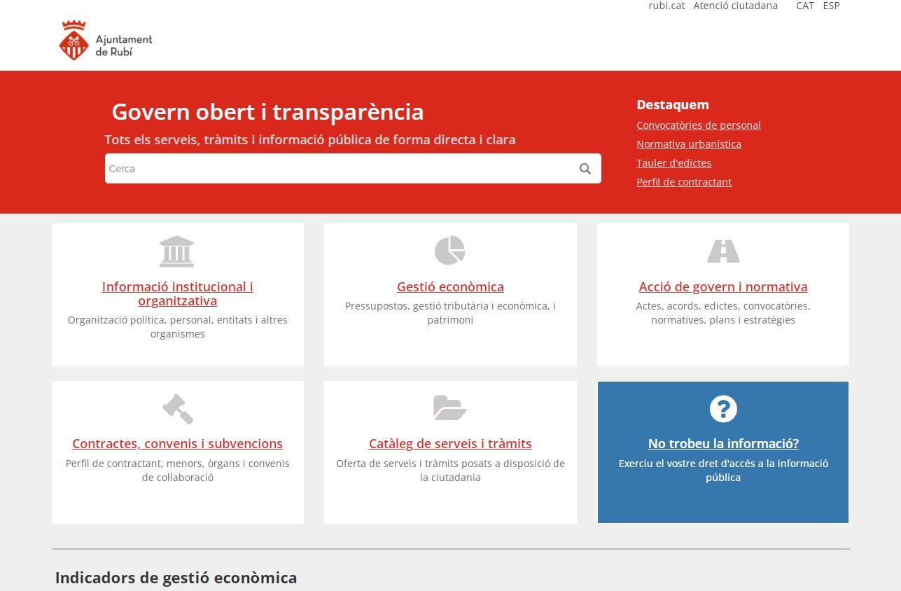 Web transparencia